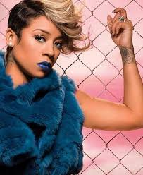 keyshia cole hairstyle gallery short hairstyles and cuts funky hairdo black sides blonde top