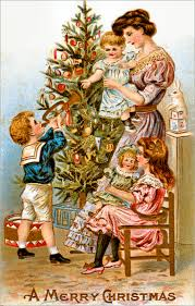 Antique Victorian Christmas Ornaments - vintage victorian christmas greeting card 36053 harrison