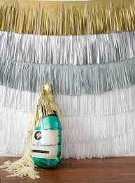 New Year Decorations Pinterest by New Years Eve Backdrop Fringe Curtain Silver And Gold Photo Booth
