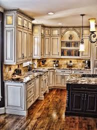 Painted Kitchen Cabinets Kitchen Trendy Antique White Painted Kitchen Cabinets Ideas With