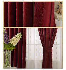 chenille frosty burgundy curtains u2013 balay homewares u0026 decors
