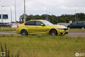 Bmw M3 Yellow Green - bmw m3 f80 sedan 2017 4 august 2017 autogespot