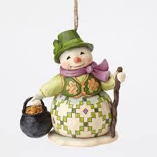 snowman ornament jim shore