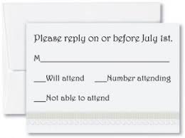 sle rsvp cards wedding response card wording for diy weddings paperdirect