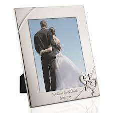 engraved wedding album personalized wedding picture frames engraved wedding picture frames