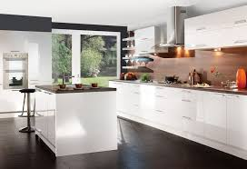 gloss kitchen ideas kitchen stunning white gloss kitchen ideas with illuminated