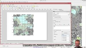 Map Grid How To Add Coordinate Grids To Maps I Qgis Youtube