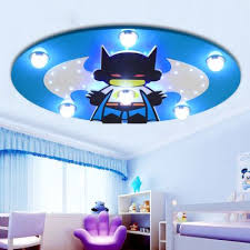 boys room ceiling light creative cartoon batman ceiling l children bedroom led ceiling