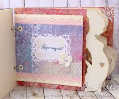 pregnancy journal book personalized pregnancy journal pregnancy keepsake album expecting