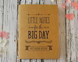 Wedding Planning Journal Wedding Notepad Etsy