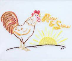 country kitchen embroidery design farm kitchen theme hand