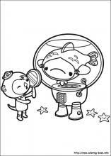 octonauts coloring pages coloring book