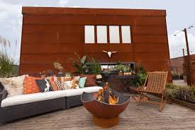 Swing Fire Pit by Rustic Porch With Wrap Around Porch By Atg Stores Zillow Digs
