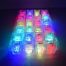 light up cubes led light up freezable cubes 24pc