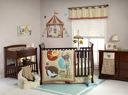 5 Piece Nursery Furniture Set by Amazon Com Nojo By Jill Mcdonald Amazing Animals 5 Piece Crib