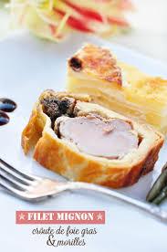 cuisiner les morilles filet mignon en croûte de foie gras morilles idée de plat festif