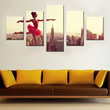 Paintings For Living Room by Online Buy Wholesale Ballerina Art Paintings From China Ballerina