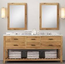 Modern Walnut Bathroom Vanity by Wooden Bathroom Vanity In Light Walnut Color From Bathroom Vanity