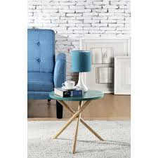 blue accent tables living room furniture the home depot