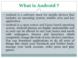 what is android sdk android sdk