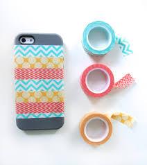 diy washi phone case imagine our life