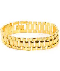 link bracelet images The gold gods gold watch link bracelet zumiez jpg