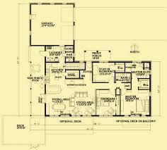 single level floor plans single story house plans for a simple passive solar home