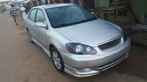 toyota corolla pimped pimped tokunbo 2004 toyota corolla sport price 1 650m autos