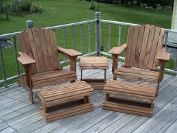 Adirondack Deck Chair Outdoor Wood Plans Download by Double Adirondack Chair Woodworking Plans Home Chair Decoration