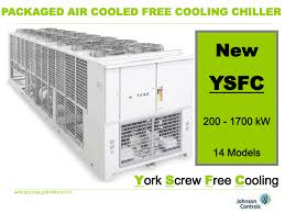 what is a free cooling york by johnson controls