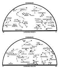 Night Sky Map Tonight Meteor Shower The Astronomical Society Of Edinburgh Journal