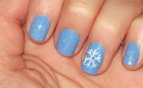 very easy winter nail art designs 2013 2014 for beginners