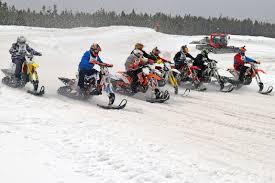 motocross snow bike snow bike world snow bike magazine
