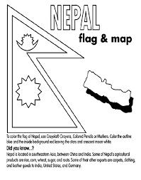 nepal coloring crayola