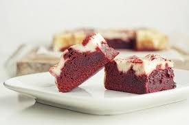 sinfully sweet red velvet brownies recipe cafemom