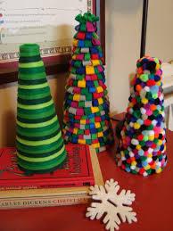 inspired whims homemade felt christmas trees