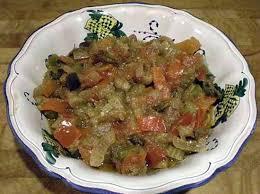 recette de cuisine pour l hiver recette de caponata sicilienne et sa conservation pour l hiver