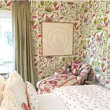 Floral Chaise 442 Best Wallpaper Images On Pinterest Fabric Wallpaper