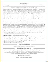 sles of memorial programs corporate trainer description resume sle 5a for template