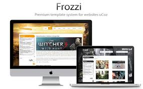 website templates for ucoz frozzi professional ucoz templates