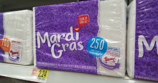 mardi gras material 0 50 1 mardi gras napkin coupon walmart deal idea hip2save