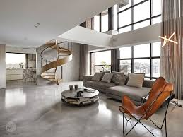 interiors for the home a sculptural spiral staircase makes a statement in this home s