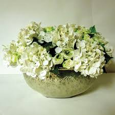 artificial and preserved flower arrangements home decor