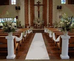 Church Decorations For Wedding Best 25 Church Ceremony Decor Ideas On Pinterest Church