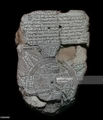 Map Of The World Bc by Map Of The World Probably From Sippar Southern Iraq Babylonian