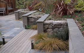 Retaining Garden Walls Ideas Architectural Garden Wall Garden Walls Gabions And New Modern