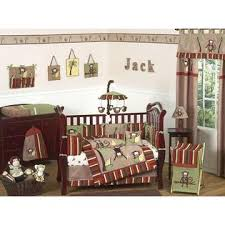 Monkey Crib Bedding Set by Sweet Jojo Designs Monkey Collection 9pc Crib Bedding Set Baby