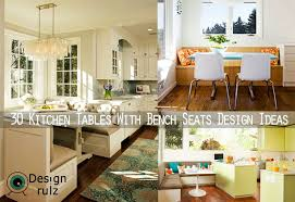 kitchen bench seating ideas 30 kitchen tables with bench seats design ideas