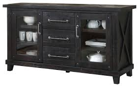 yosemite solid wood sideboard rustic buffets and sideboards
