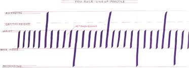 lined paper for cursive writing practice grid jpg set